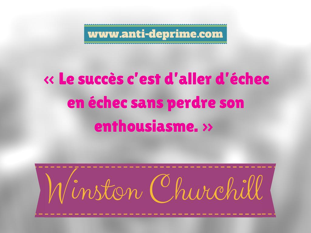 «Le succès c'est d'aller d'échec en