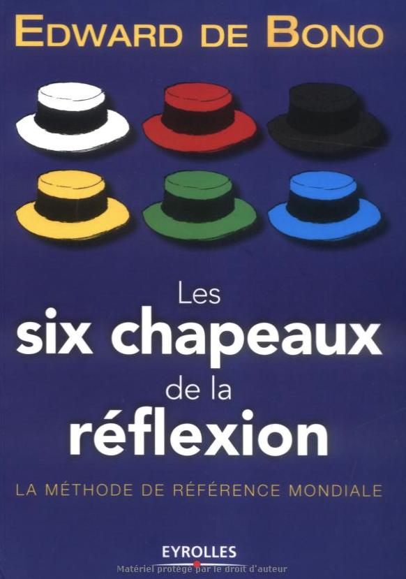 les 6 chapeaux de la réflexion Edward de Bono