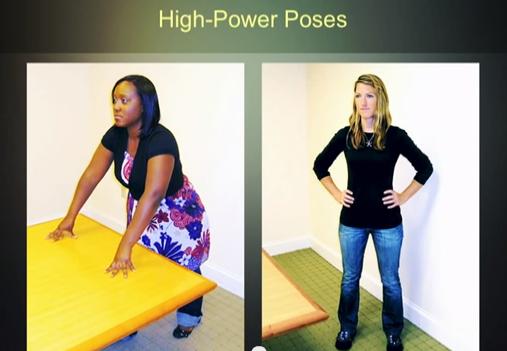 posture de puissance