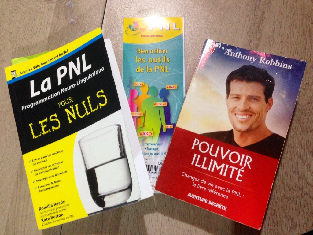 3 livres pour se former à la PNL