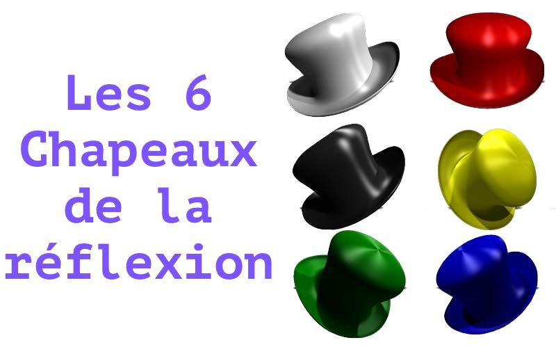 les 6 chapeaux de la réflexion de Bono