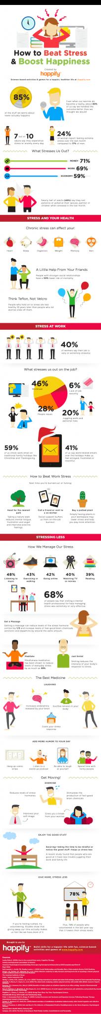 battre le stress