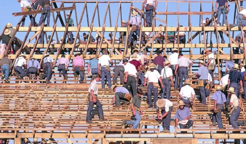 La joie de coopérer autour de la construction
