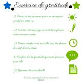 Exercice de gratitude