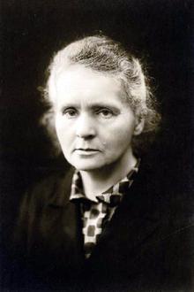 Marie Curie Prix Nobel de Physique