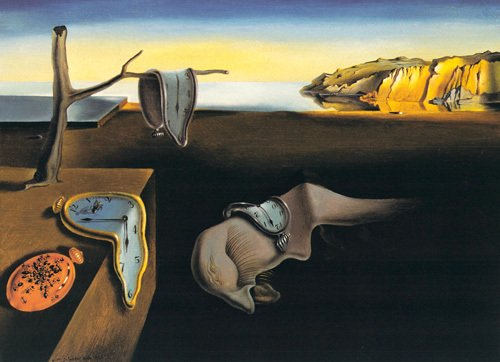 la persistance de la mémoire Salvador Dali