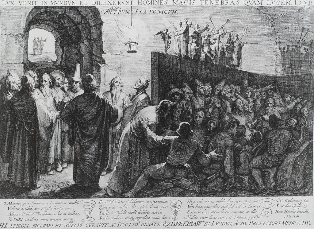 «Platon Cave Sanraedam 1604» par Jan Saenredam