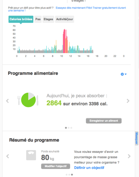 fitbit one tableau 2