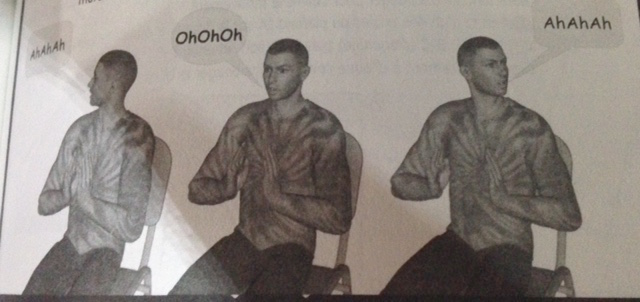 yoga du rire exercice