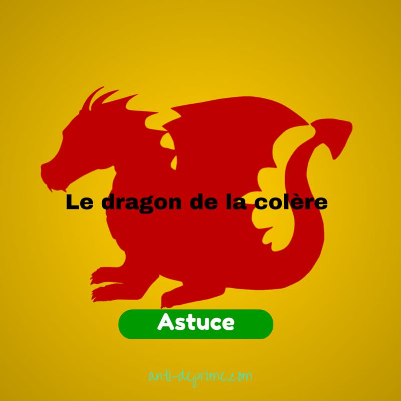 dragon de la colère
