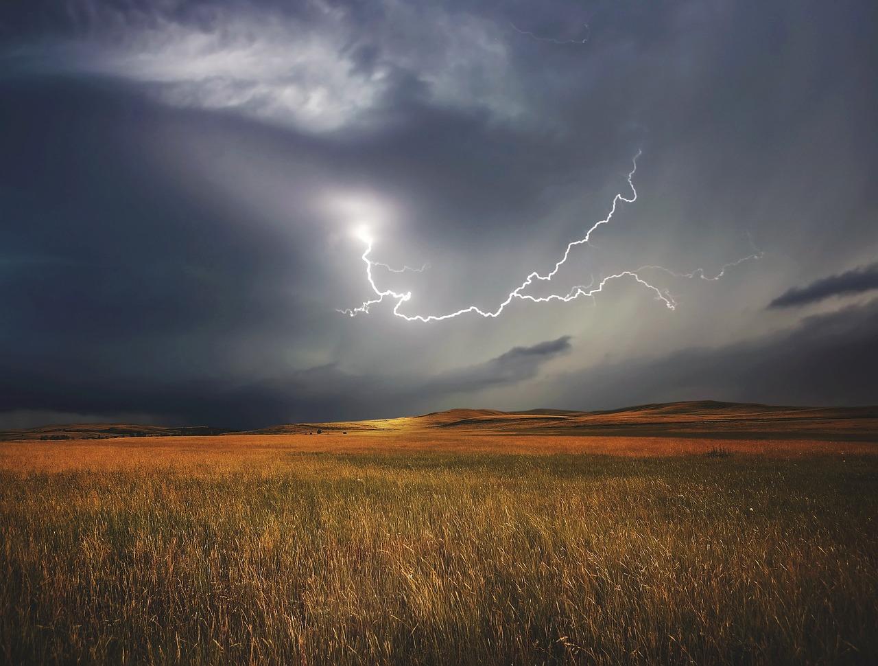 orage colère
