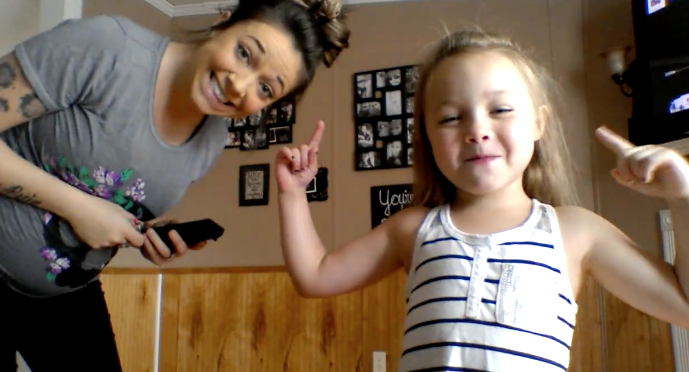 Jaylyn et Taylor danse