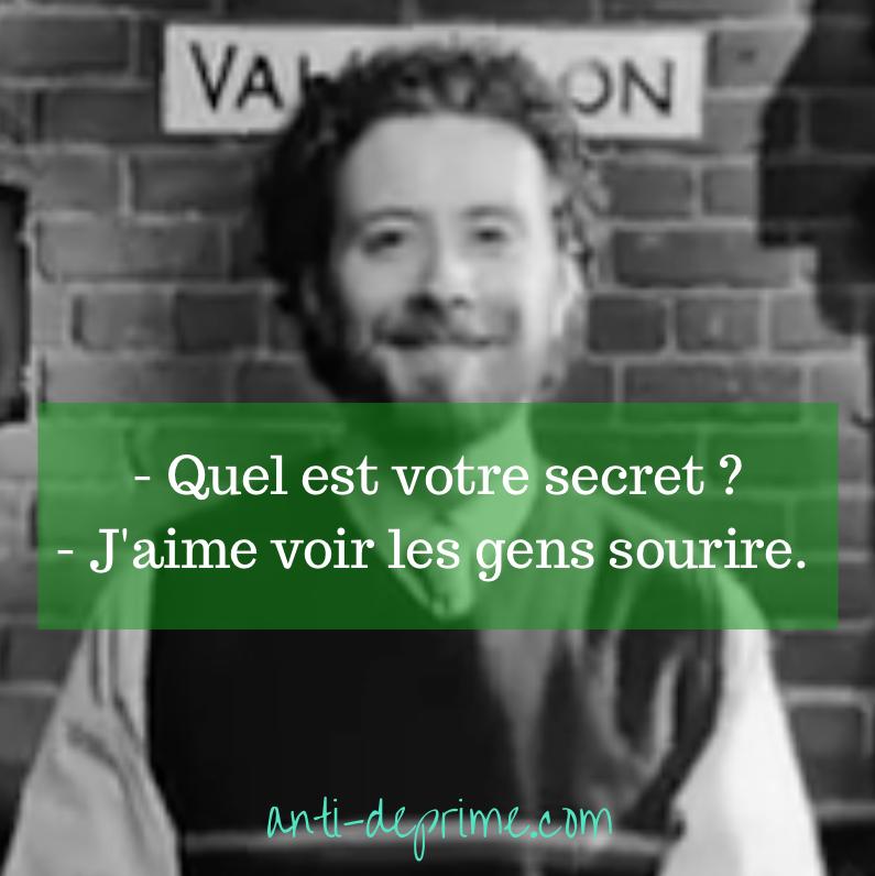 validation sourire français