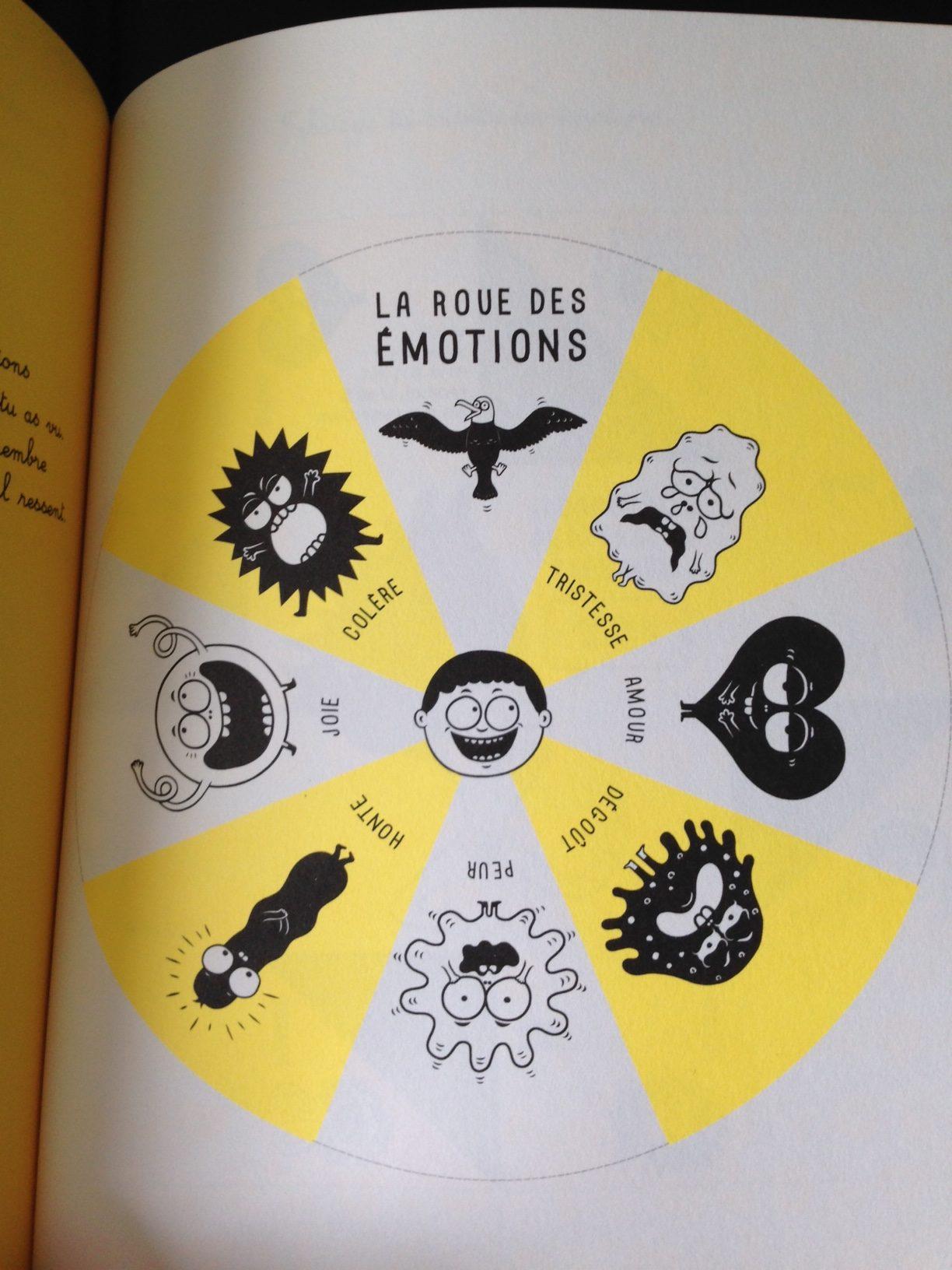 la roue des émotions Isabelle Filliozat