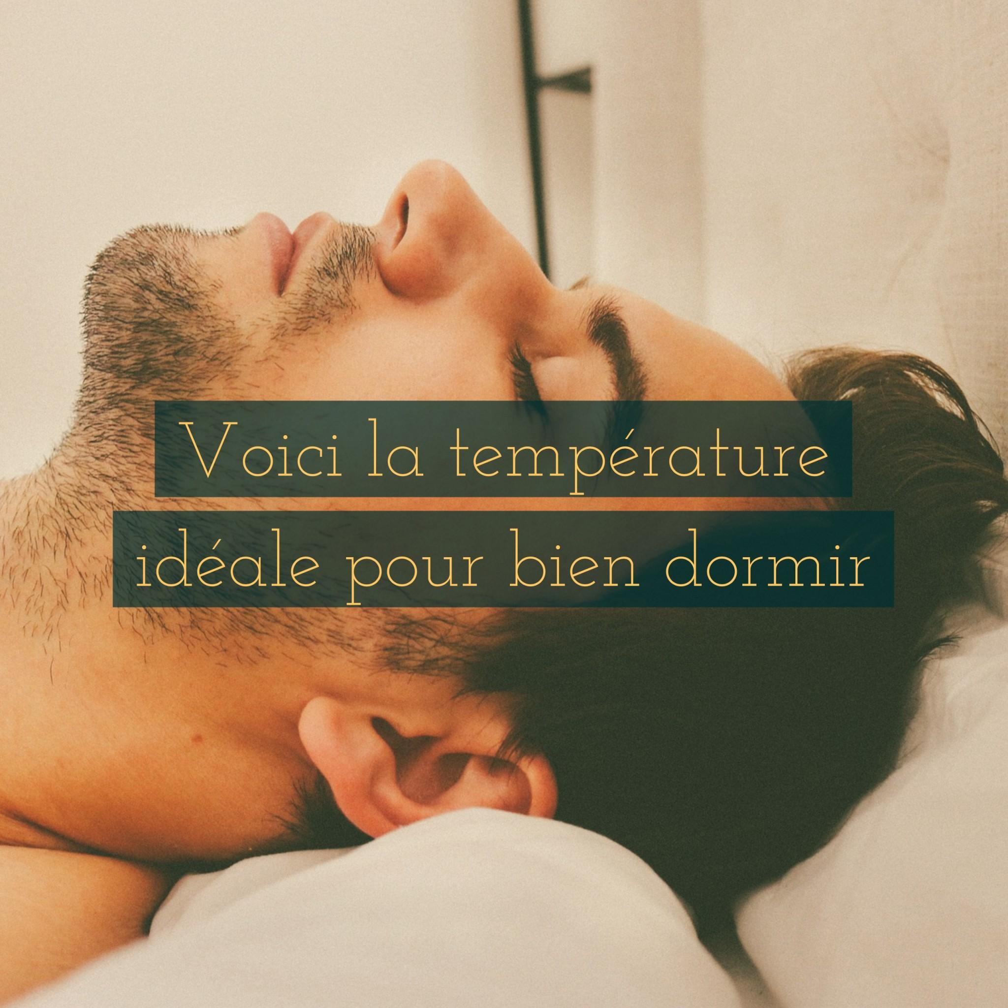 Voici la température idéale pour dormir