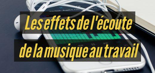Les effets de l'écoute de la musique au travail
