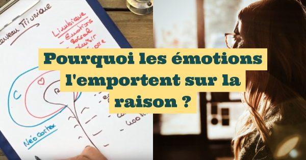Pourquoi les émotions l'emportent sur la raison ?