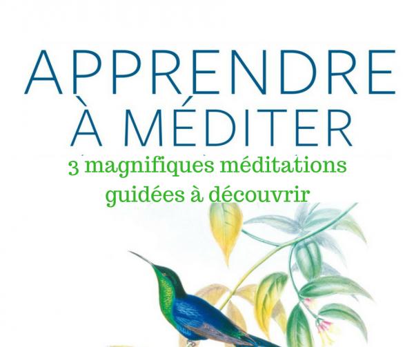 Écoute gratuite : 3 magnifiques méditations guidées à découvrir