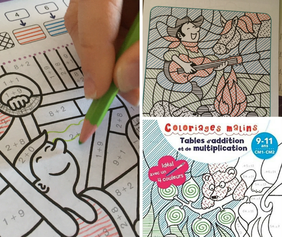 Des coloriages magiques pour apprendre les tables d - Site pour apprendre les tables de multiplication ...